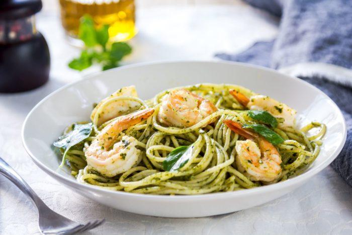 Спагетти с чукой
