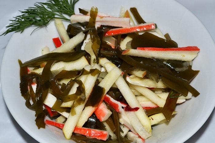 салат морская капуста