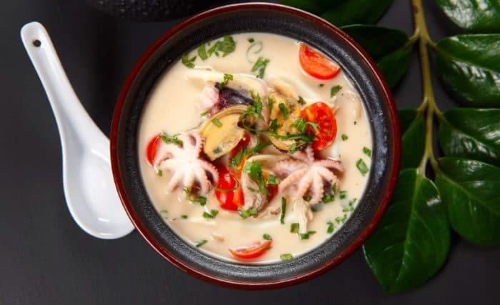 Суп из осьминога
