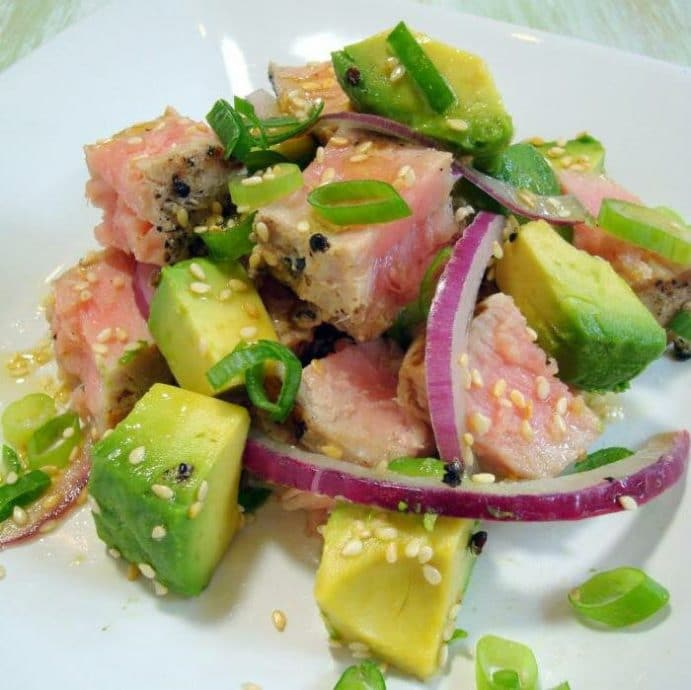 салат тунец
