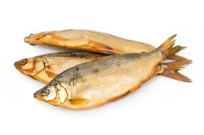 сушеная рыба пелядь