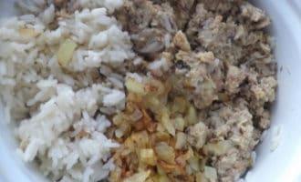 рис с консевами