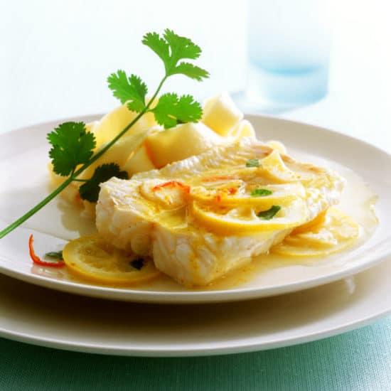 необычное блюдо из рыбы-сабли