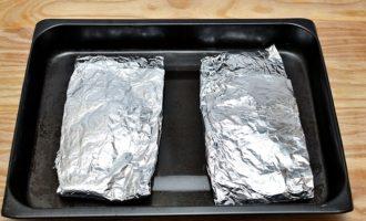 Филе минтая, приготовленное в духовке