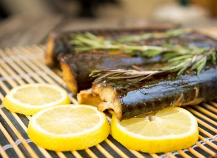 вкусный маринад для скумбрии с лимоном
