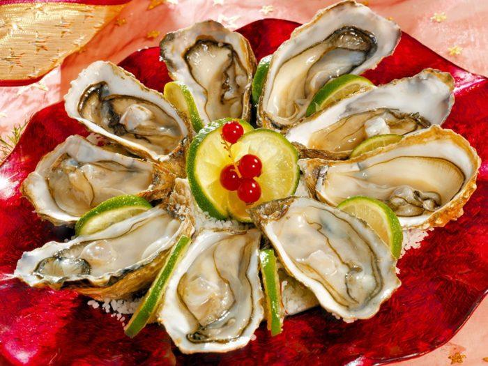 морепродукты в ракушках