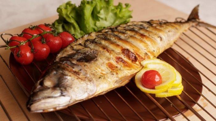 рыба в медовом маринаде