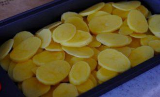 картофель в виде пластов