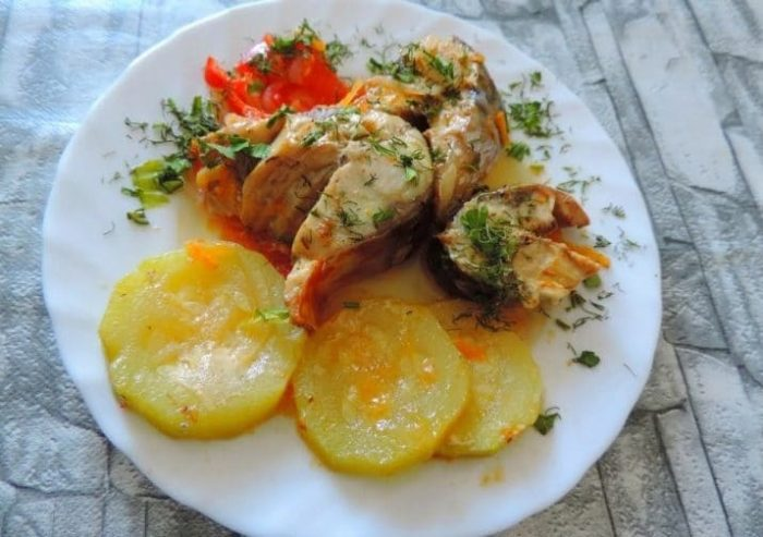 С кабачками и болгарским перцем