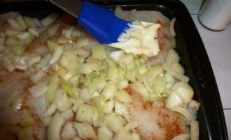 филе трески с овощами в духовке