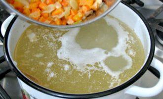 Рыбный суп из свежей скумбрии