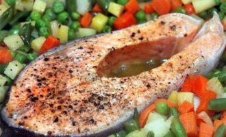 рыба с перцем