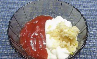 соус с томатами и чесноком