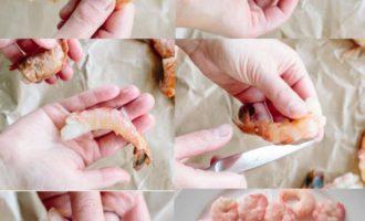 как быстро и правильно чистить креветки