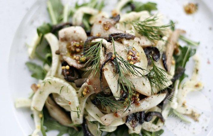 каракатица в салате