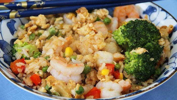 как правильно готовить рис с овощами