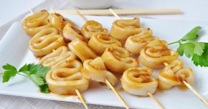 Шашлык в маринаде из лаймового сока и соевого соуса