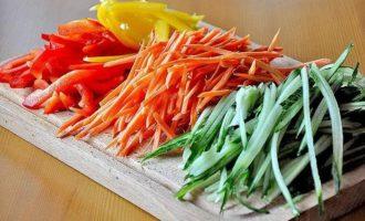овощи для фунчозы