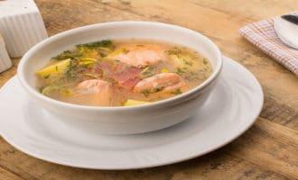 суп на жирном бульоне