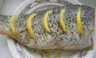 карп с лимоном