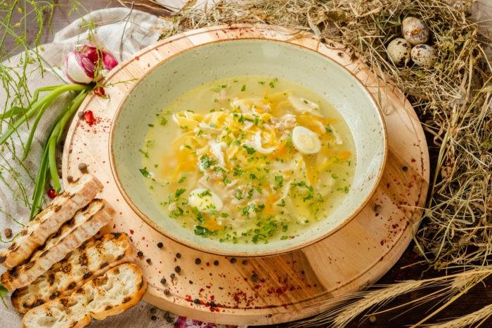 вкусный рыбный суп с пшеном
