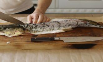 разделка белой рыбы