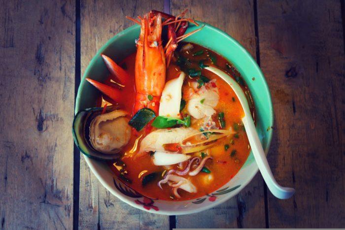 пряный рецепт супа том ям