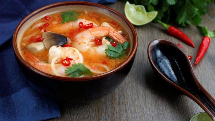 вкусный суп том ям