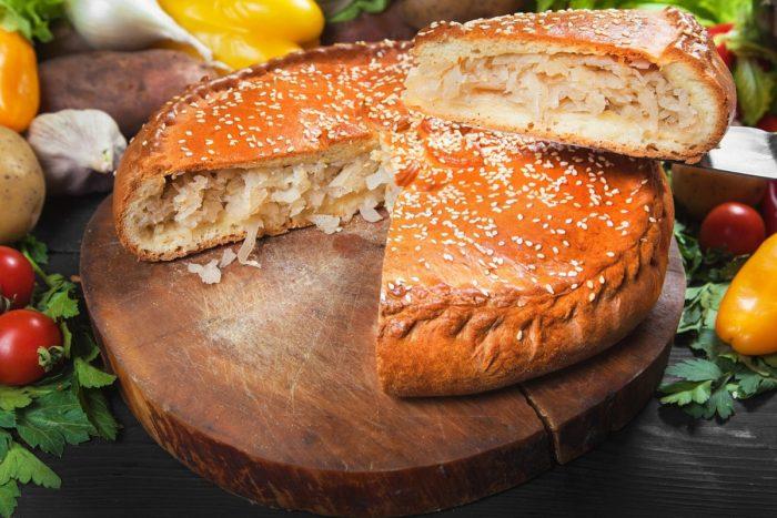 приготовление рыбного пирога
