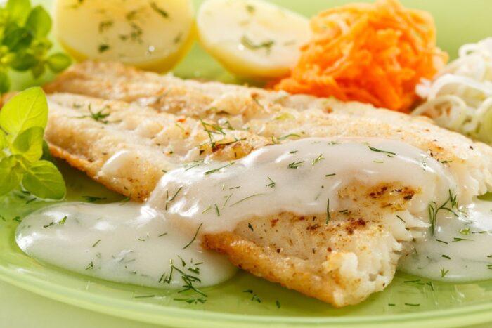 Нежное филе белой рыбы