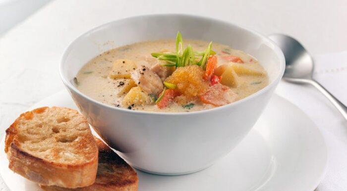 вкусный суп из рыбной икры
