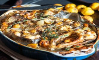 вариант приготовления сытного ужина из толстолобика