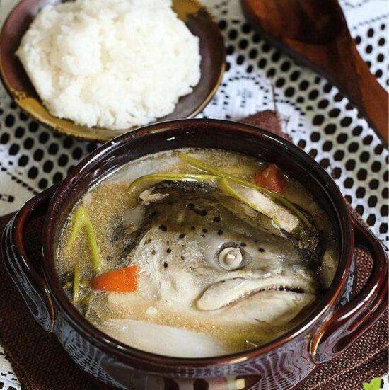 Из рыбы черепа