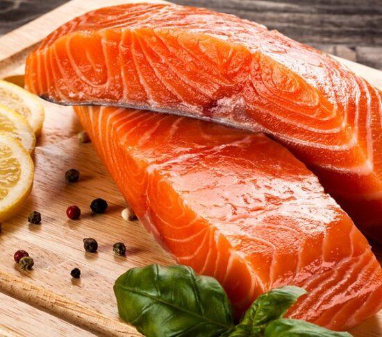 мясо дикого лосося