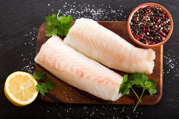вкусное блюдо из креветочной рыбы