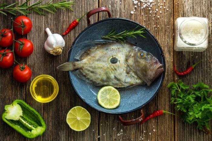 рыба дори выглядит непривлекательно