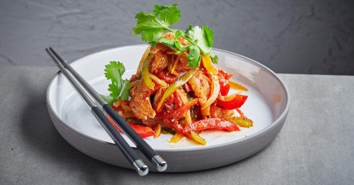 рыба по азиатскому рецепту