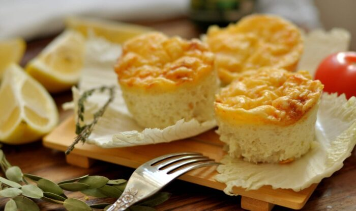 суфле с пышной сырной корочкой