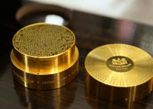 золотая икра в красивой банке