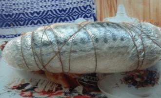 фиксация кулинарной нитью