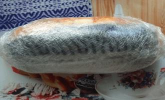 рыба связанная полиэтиленом