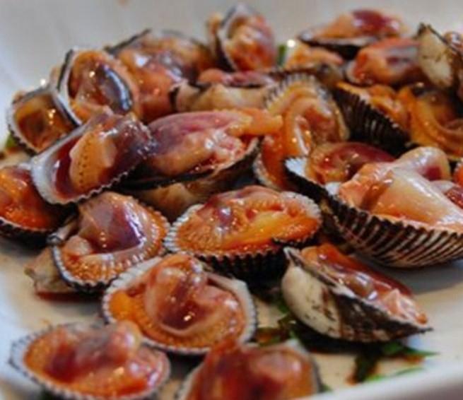 кровавые моллюски анадара
