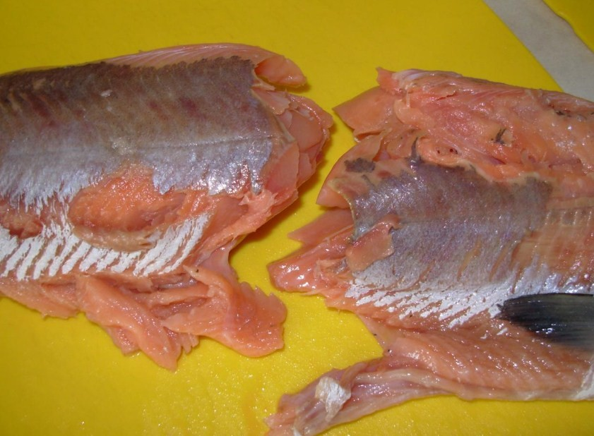 рыба распадается после разморозки