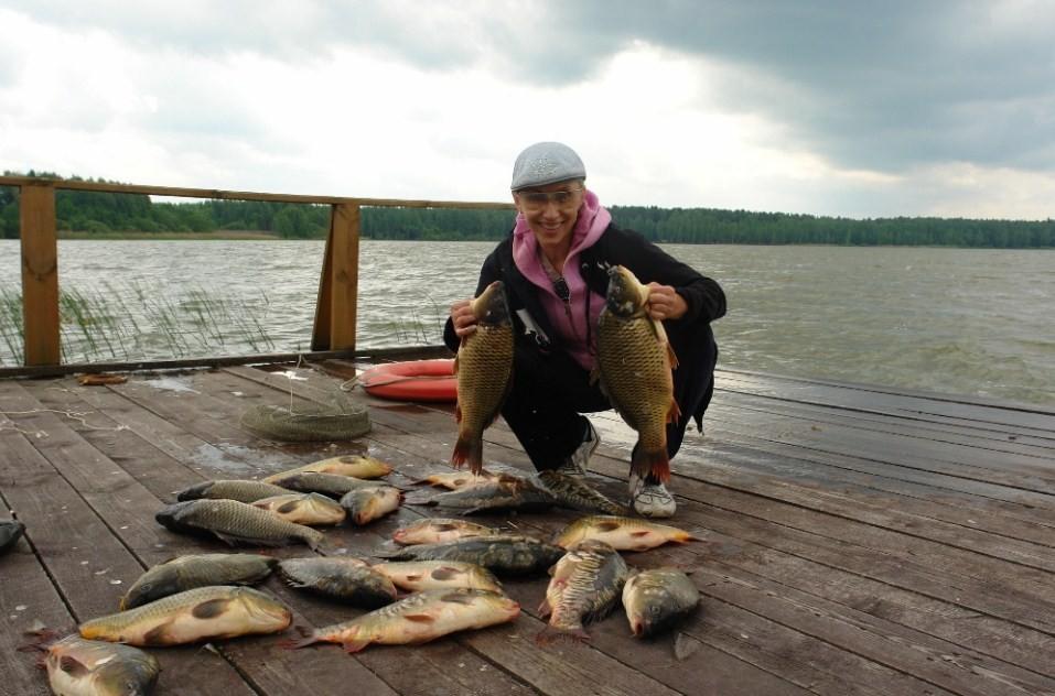Елена Воробей и множество карпов