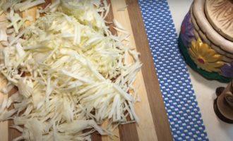 капуста нарезанная соломкой