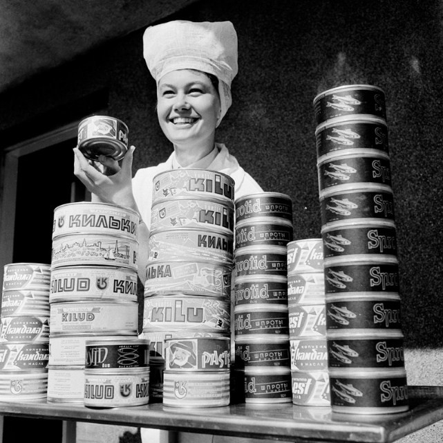 какие консервы были раньше