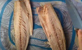 филе скумбрии без костей