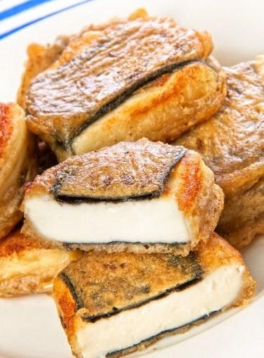 рыба из тофу и нори