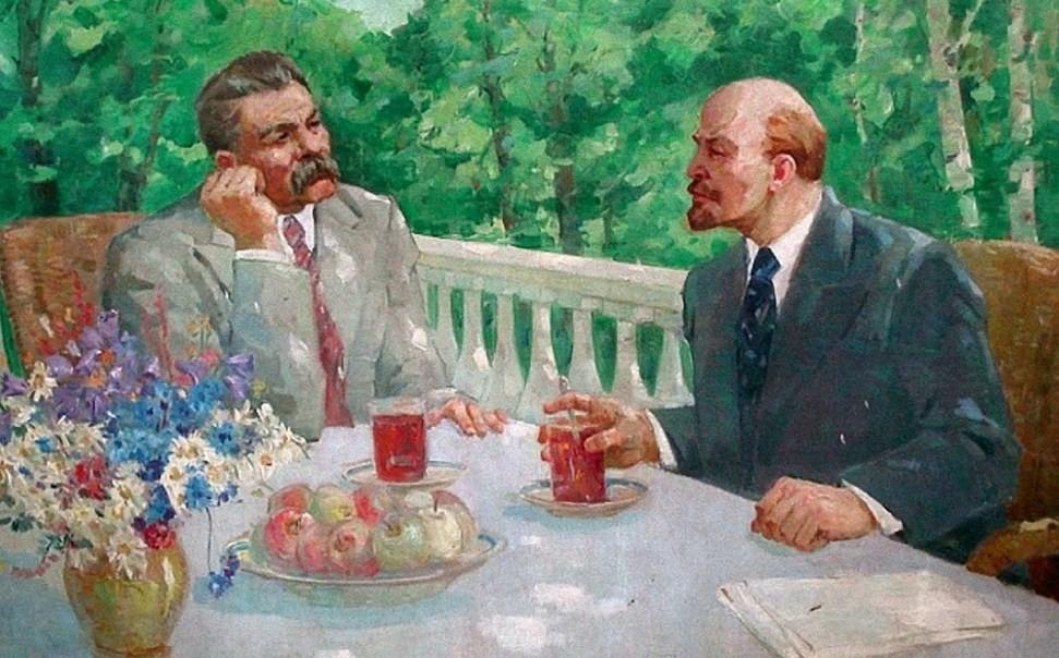 как обедал Ленин