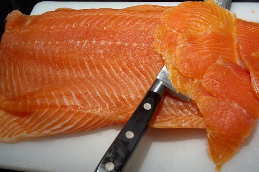 натуральный оттенок рыбы